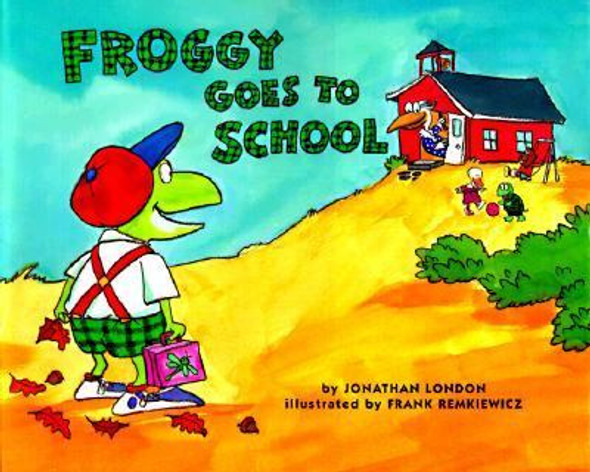 Froggy Goes to School Cover