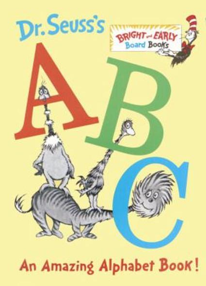 Dr. Seuss's ABC: An Amazing Alphabet Book! Cover