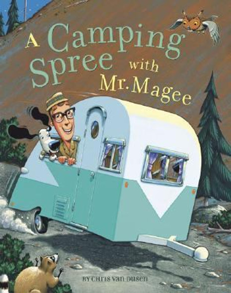 A Camping Spree with Mr. Magee Cover