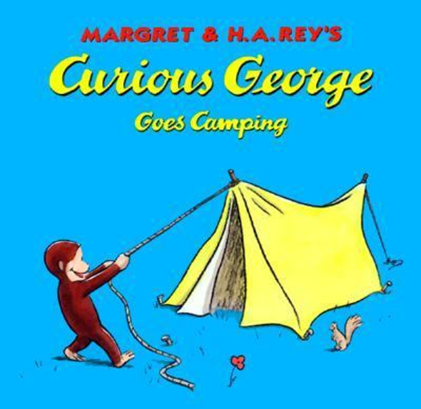 Curious George Goes Camping Cover