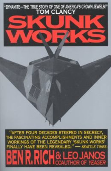 Skunk Works: A Personal Memoir of My Years of Lockheed Cover