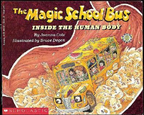 The Magic School Bus Inside the Human Body Cover