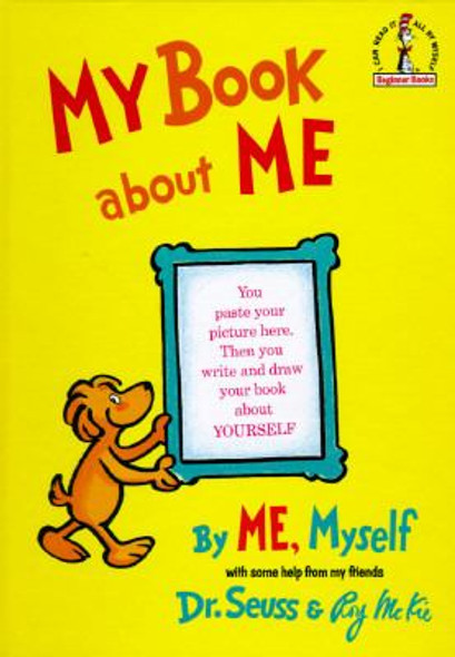 My Book about Me, by Me Myself Cover
