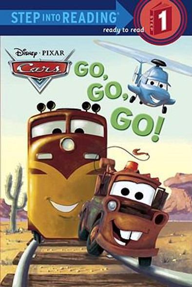 Go, Go, Go! (Disney/Pixar Cars) (Step into Reading) Cover