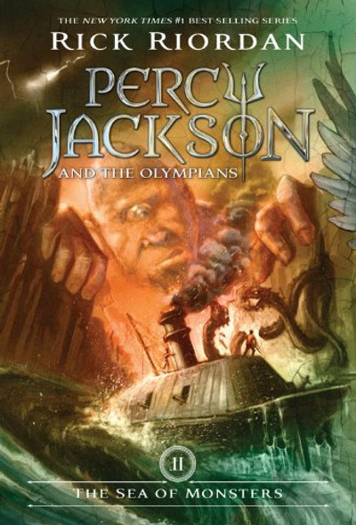 The Sea of Monsters (Percy Jackson and the Olympians, Book 2) Cover