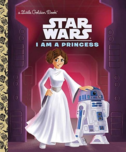 I Am a Princess (Star Wars) (Little Golden Book) Cover