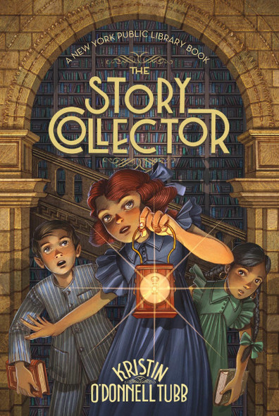 The Story Collector: A New York Public Library Book Cover