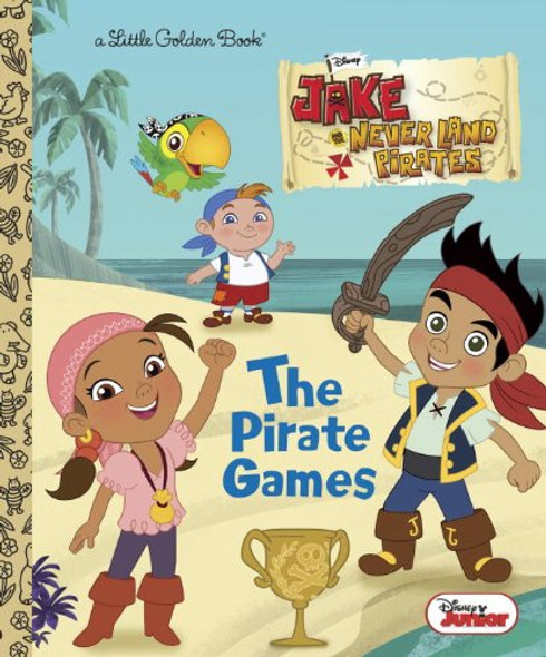 The Pirate Games (Little Golden Book) Cover