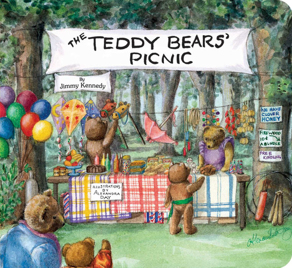 The Teddy Bears' Picnic (Classic Board Books) Cover