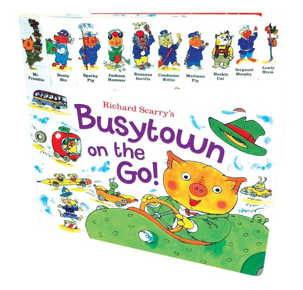 Richard Scarry's Busytown on the Go! Cover