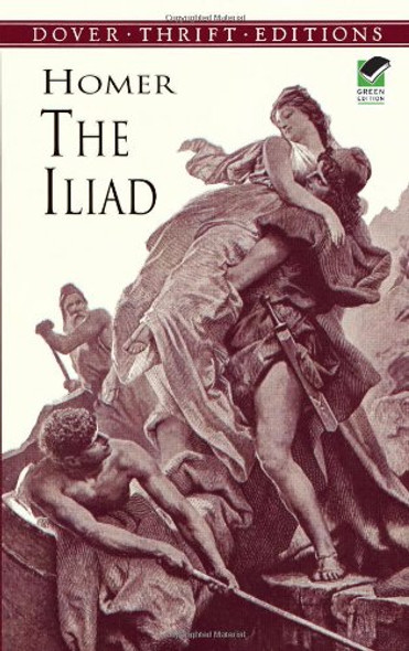 The Iliad (Dover Thrift Editions) Cover
