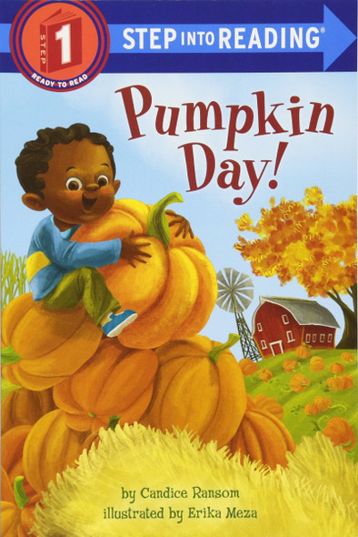 Pumpkin Day! (Step into Reading) Cover