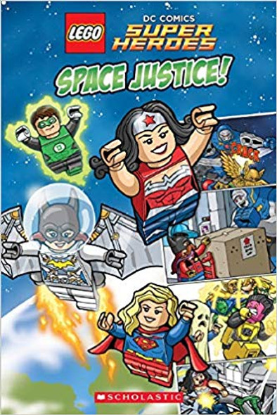 Space Justice! (LEGO DC Super Heroes) Cover