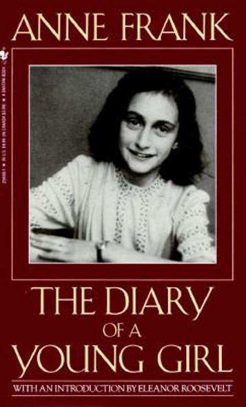 Anne Frank: The Diary Of A Young Girl (Turtleback School & Library Binding Edition) Cover