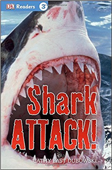 DK Readers L3: Shark Attack! Cover
