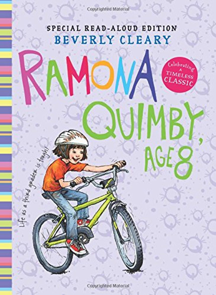 Ramona Quimby, Age 8 Read-Aloud Edition Cover