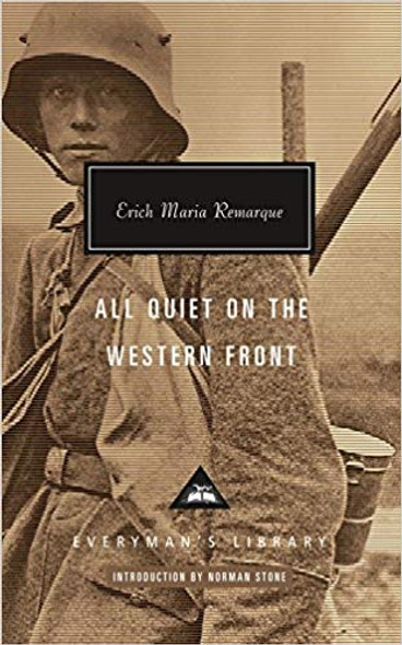 All Quiet on the Western Front ( Everyman's Library Contemporary Classics ) Cover