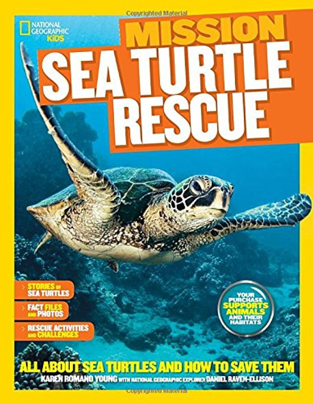 National Geographic Kids Mission: Sea Turtle Rescue: All about Sea Turtles and How to Save Them Cover