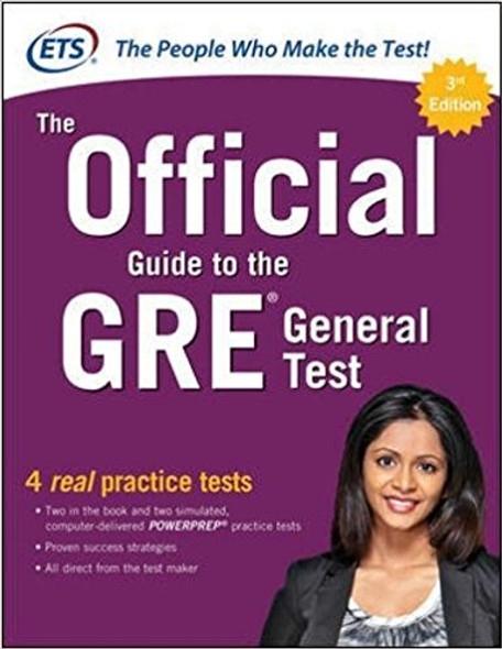 The Official Guide to the GRE General Test, Third Edition Cover