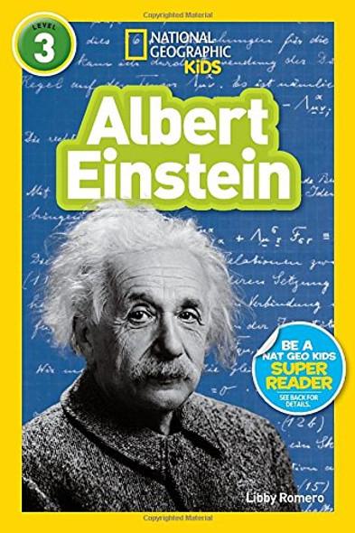 National Geographic Readers: Albert Einstein (Readers Bios) Cover