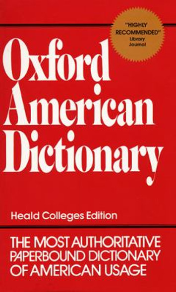 Oxford American Dictionary Cover