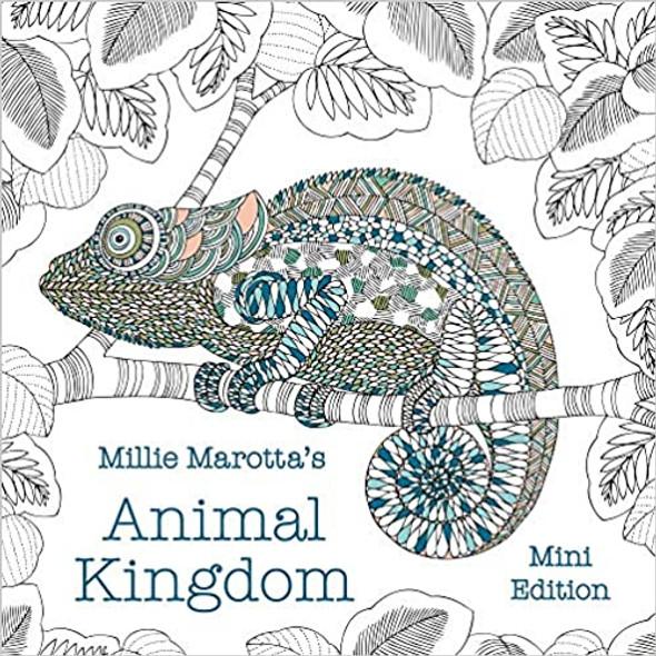 Millie Marotta's Animal Kingdom: Mini Edition (Millie Marotta Adult Coloring Book) Cover