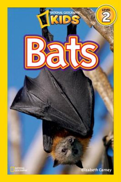 National Geographic Readers: Bats ( National Geographic Readers: Level 2 ) Cover