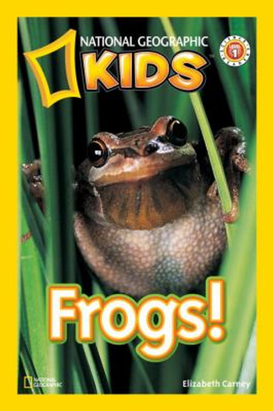 National Geographic Readers: Frogs! Cover