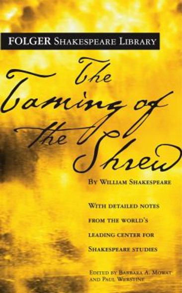 Taming of the ShrewŒ_( Folger Library Shakespeare ) Cover