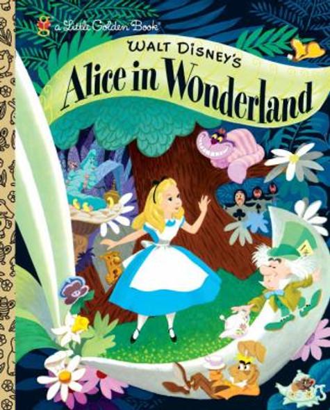 Walt Disney's Alice in Wonderland (Little Golden Book) Cover