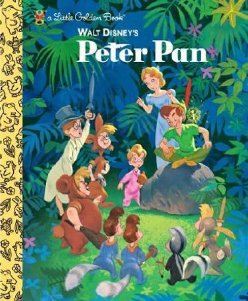 Peter Pan (Little Golden Book) Cover