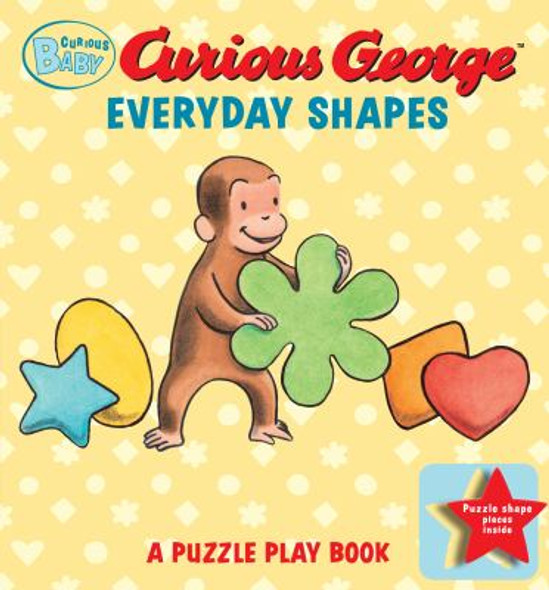 Curious Baby Everyday Shapes Puzzle Book : A Puzzle Play Book Cover