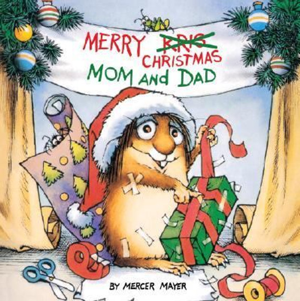 Merry Christmas, Mom and Dad (Little Critter) Cover