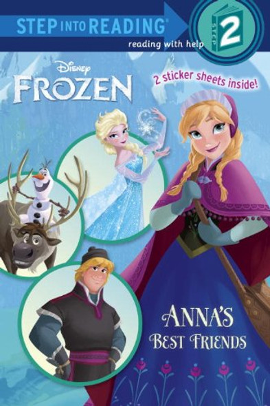 Anna's Best Friends (Disney Frozen) (Step into Reading) Cover