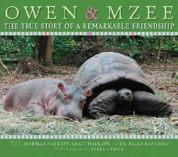 Owen and Mzee : The True Story of a Remarkable Friendship Cover