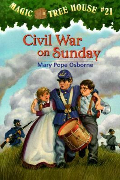 Magic Tree House #21: Civil War on Sunday Cover