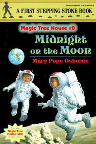 Magic Tree House #08: Midnight on the Moon Cover