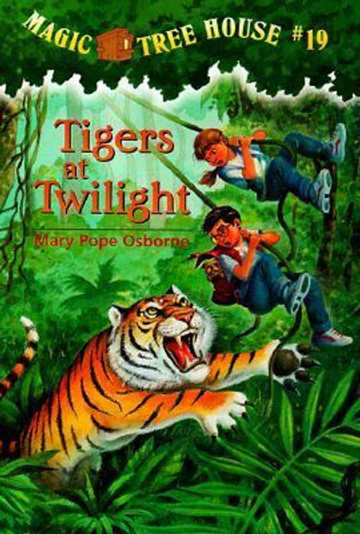 Magic Tree House #19: Tigers at Twilight Cover