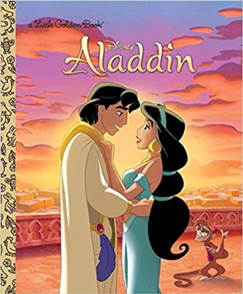 Aladdin (Little Golden Book) Cover
