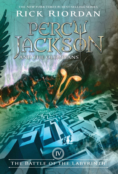 The Battle of the Labyrinth (Percy Jackson and the Olympians, Book 4) Cover