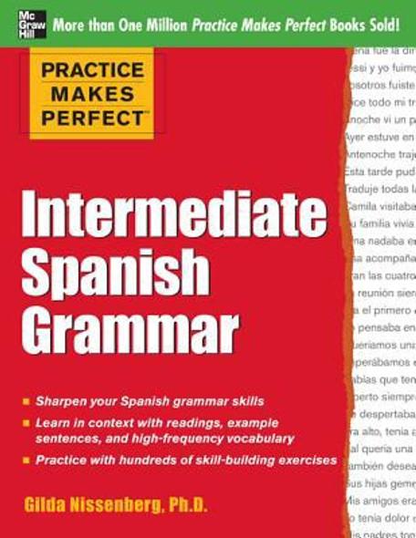 Practice Makes Perfect Intermediate Spanish Grammar Cover