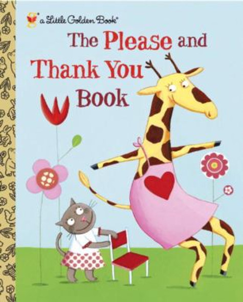 The Please and Thank You Book (Little Golden Book) Cover