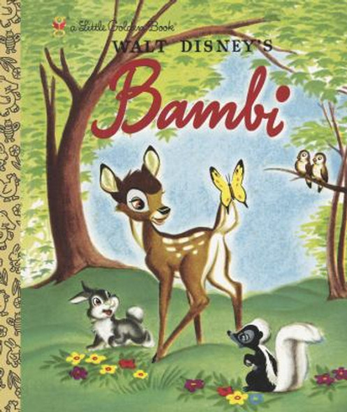 Bambi (Little Golden Book) Cover