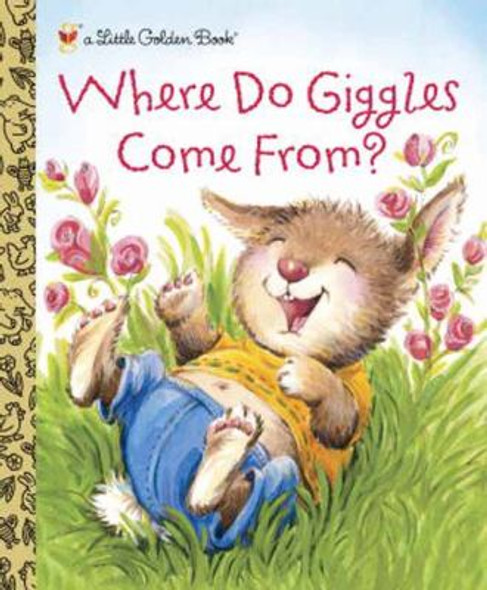 Where Do Giggles Come From? (Little Golden Book) Cover