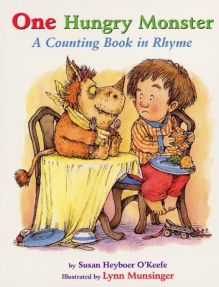 One Hungry Monster: A Counting Book in Rhyme Cover