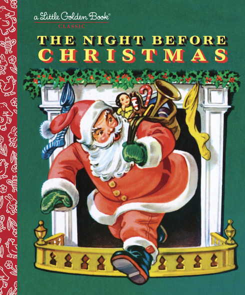 The Night Before Christmas (Little Golden Book) Cover
