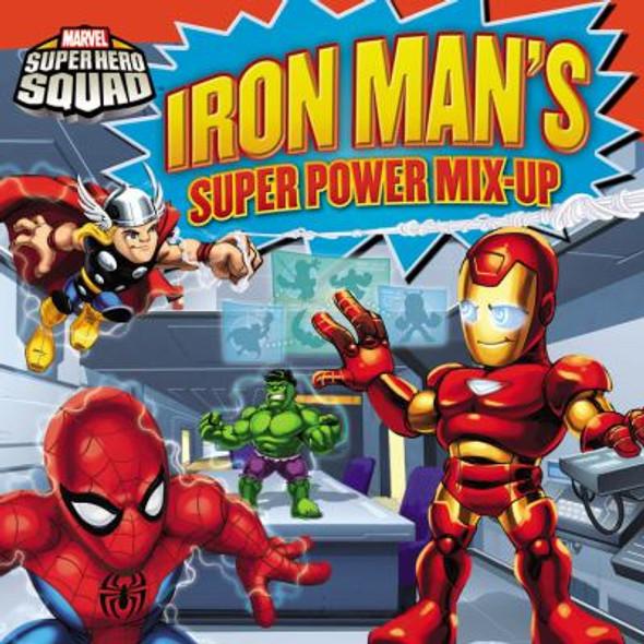 Super Hero Squad: Iron Man 8 X 8 Cover