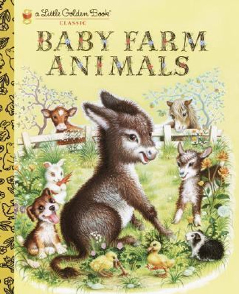 Baby Farm Animals (Little Golden Book Classic) Cover