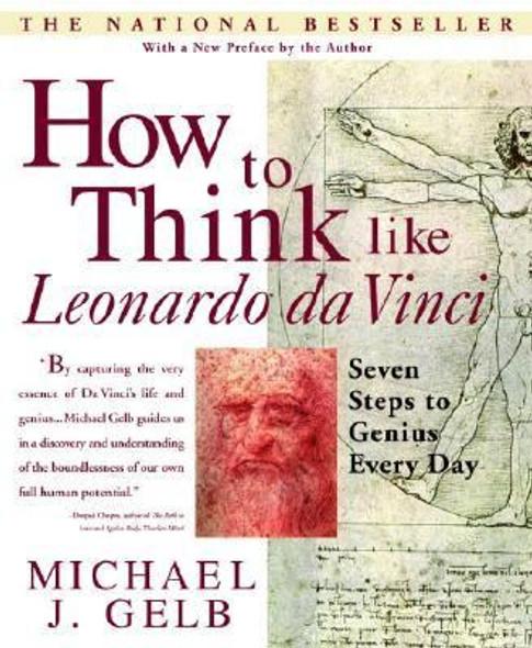 How to Think Like Leonardo da Vinci: Seven Steps to Genius Every Day Cover