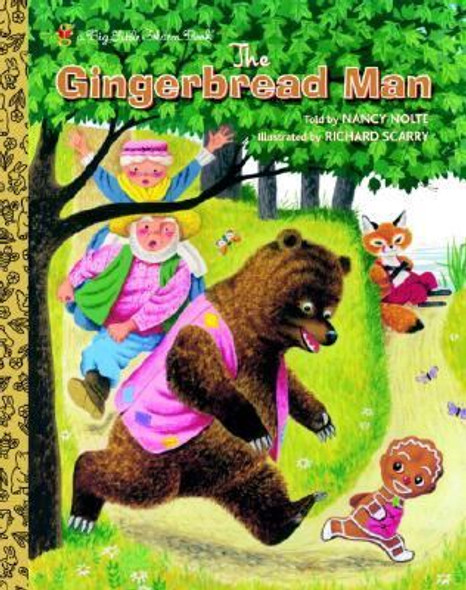The Gingerbread Man (Big Little Golden Book) Cover
